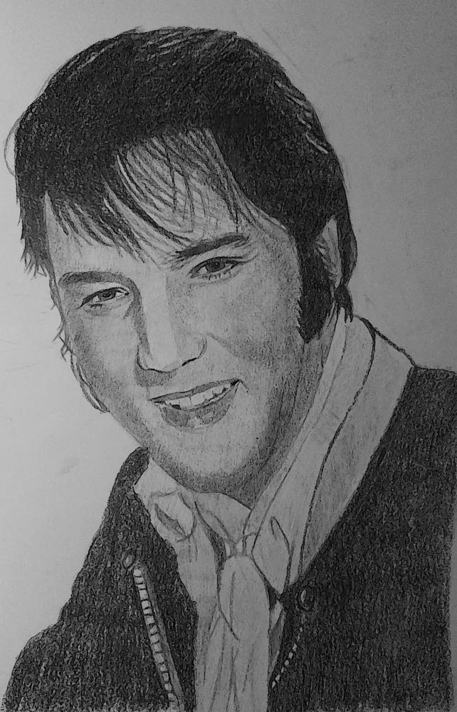 Elvis Presley by g1adina87